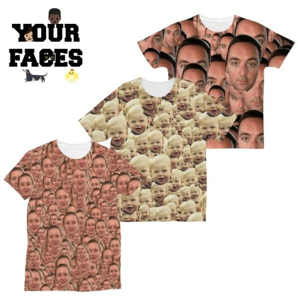 Win Your Faces T-Shirt